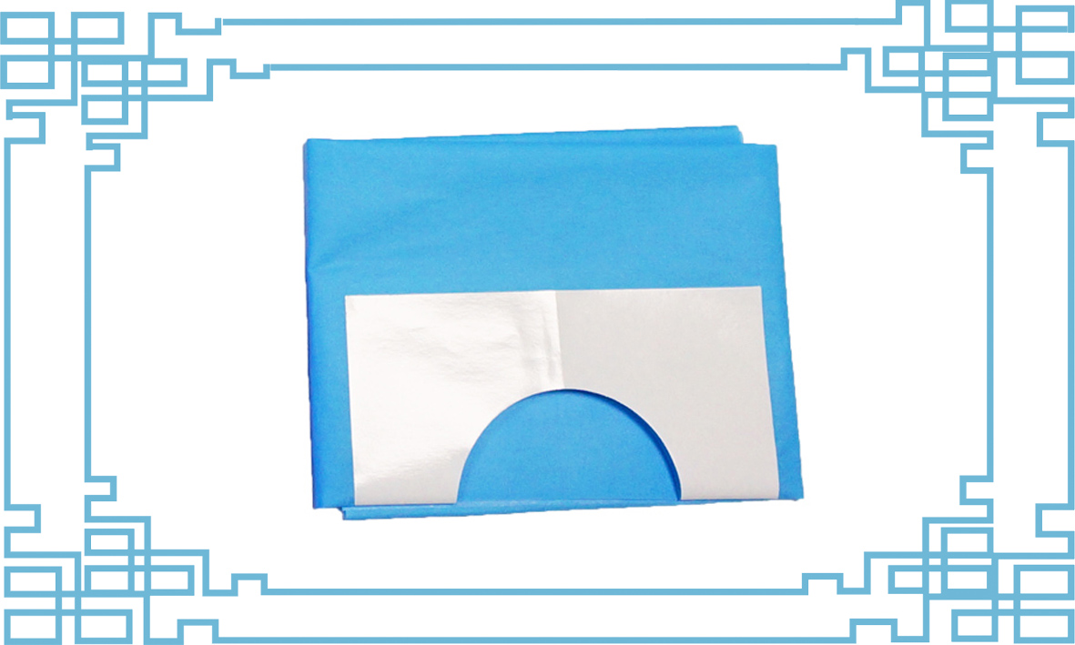 Disposable Fenestrated Drape--S3200019